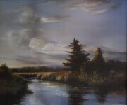 Last Light -Serpentine Fen     Oil