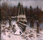 Annieville Winter -SOLD