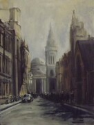 A Street in London -SOLD
