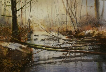 January Mist -SOLD