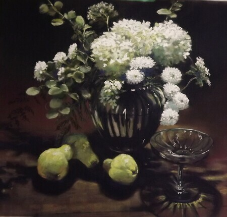 September Harvest - selected for the 2013 Oil & Water juried show